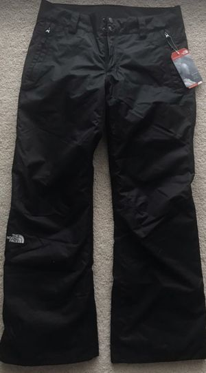 The North Face Black Hyvent Women's Winter Snow Pants Waterproof Ski/Snowboard Activewear Size M for Sale in Alexandria, VA