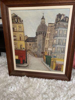 Original Paris Oil Painting for Sale in Washington, DC