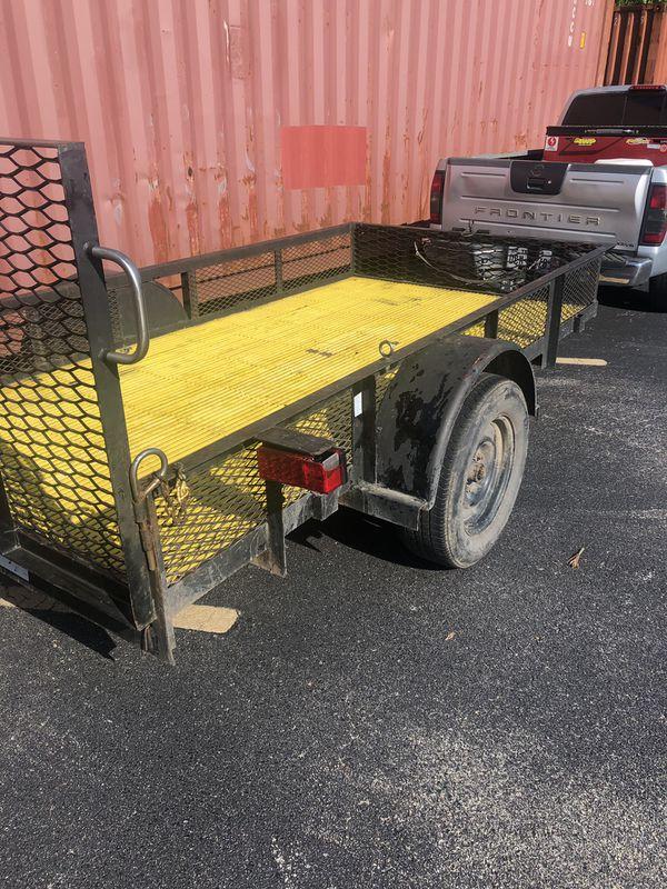 5 x 10 utility trailer