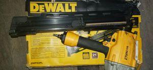 Brand new Dewalt nail gun 21 degree for Sale in Detroit, MI