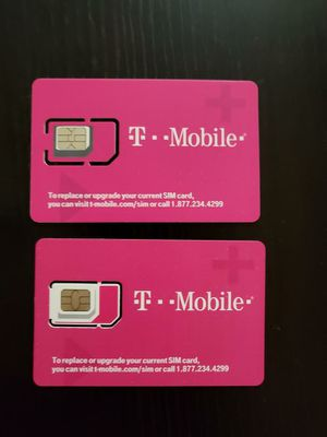 T-mobile sim cards for Sale in New York, NY