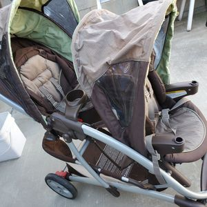 Double Stroller For Sale Good Condition for Sale in West Covina, CA