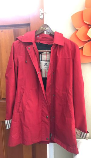 Burberry winter and Rain coat for Sale in Redwood City, CA
