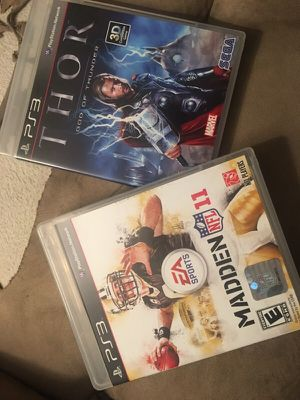 PS3 games for Sale in Lemon Grove, CA