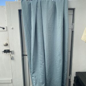 2 Curtains And Curtain Rods 38x 86 for Sale in West Palm Beach, FL