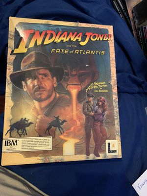 Vintage Indiana Jones PC Games for Sale in Hurst, TX