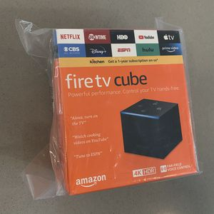 Fire TV cube 4K ultra HD brand new unopened for Sale in Seattle, WA