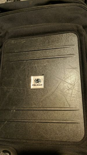 Pelican low profile laptop gaming backpack. Lockable with pressure equilizer built in. for Sale in Lemont, IL