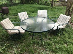 Outdoor patio alumni furniture set for Sale in Rockville, MD