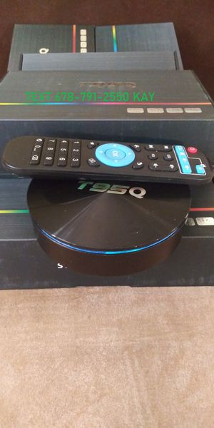 Ultra High Speed 4K Android TV Box HDR! Even TV Guide! So much better than a stick! for Sale in GILLEM ENCLAVE, GA