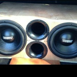 Professional Subwoofer Boxes for Sale in Tulare, CA