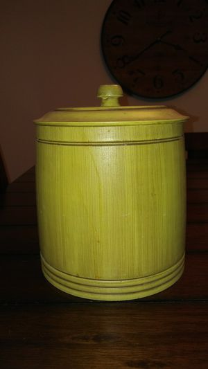 Bamboo Kitchen Jar for Sale in Westland, MI