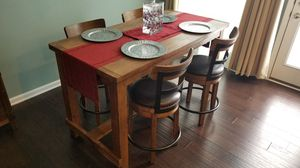 Ashley Pinnadel Counter Height Table set with 4 chairs. for Sale in Greenville, SC
