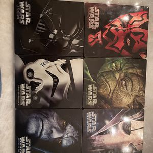 Star Wars Episodes 1-6 Limited Edition Best Buy Steel books for Sale in Arlington Heights, IL