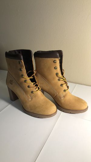 Timberland Wheat Block Size Women's Size 7 High Heels for Sale in Columbus, OH