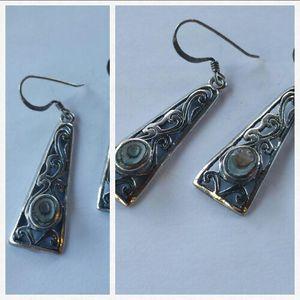 Abalone Drop earrings for Sale in Leavenworth, WA