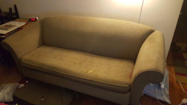 FREE Sofa with love seat