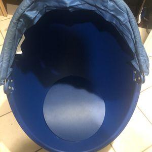 IKEA Kids Blue Egg Swivel Playchair for Sale in Long Beach, CA