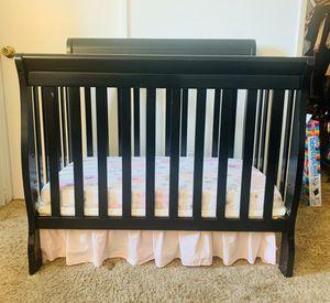 4 in 1 Convertible Mini Crib + Accessories for Sale in Costa Mesa, CA