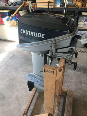 1988 Evinrude 15 horsepower (Short Shaft) for Sale in Gig Harbor, WA