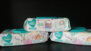 New pampers baby wipes 3 pack for Sale in Pompano Beach, FL