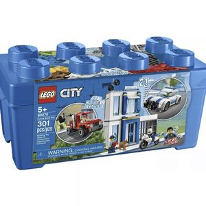 LEGO City 60270 Great Vehicles Police Station Brick Box New Building Kit Toy Kid for Sale in Ruskin, FL