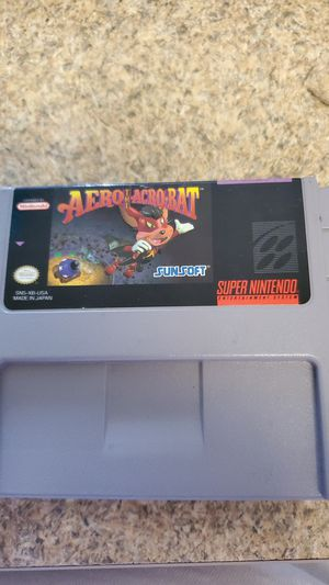 Aero acrobat super Nintendo for Sale in Dallas, TX