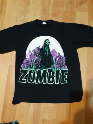 ROB ZOMBIE VINTAGE CONCERT T SHIRT. GREAT CONDITION. PRICE NEGOTIABLE for Sale in Lake Odessa, MI