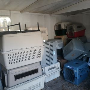 Dog Plastic Kennel Crates for Sale in St. Petersburg, FL