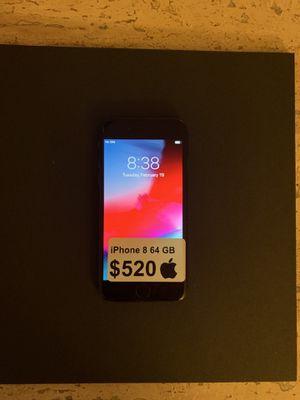 iphone 8 Unlocked 64GB for Sale in Arlington, VA