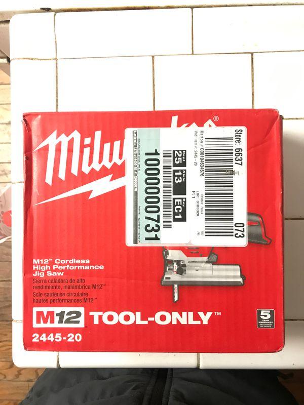 Milwaukee Jig saw .!! Brand new never used.