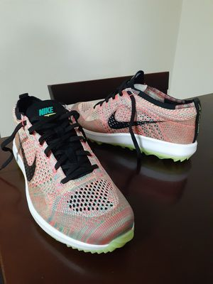 Nike Flyknit Racer G Multi-Color Golf Shoes 909756-300 Men's for Sale in Chula Vista, CA