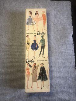 A 1961 Vintage Brunette Barbie for Sale in Franklin,  MA