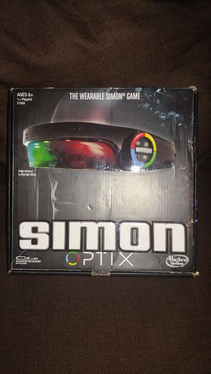 Simon optic game- with adjustable head band for Sale in Carrollton, TX