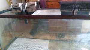 50 gal Fish tank w/ pump and filter for Sale in Benicia, CA