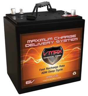 6v AGM VMax 235AH battery for Sale in Evergreen, CO