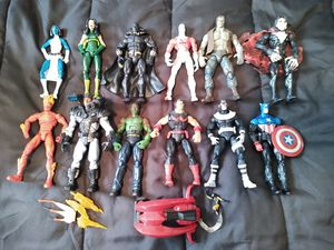 Marvel legends action figures etc 32 total for Sale in Waterbury, CT