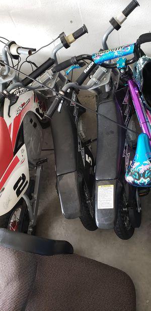 Kids razor dirt bikes for Sale in Ruskin, FL