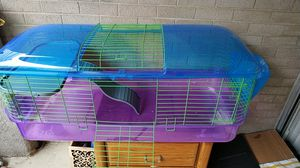 $25 guinea pig big cage with accessories for Sale in Dallas, TX
