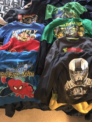 Size 7 Long Sleeve Shirts - Boys - Size 7T for Sale in Fredericksburg, VA