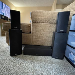 Onkyo 5.0 Surround System SKC-580 for Sale in Oceanside, CA