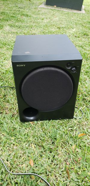 Sony sub woofer for Sale in Webberville, TX