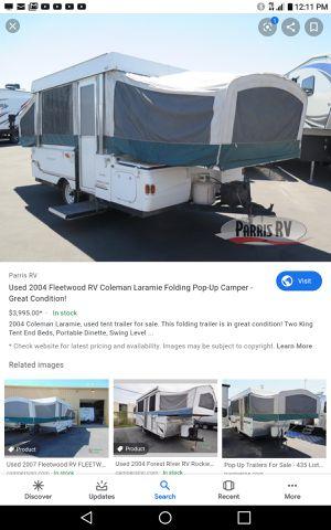 Tent trailer for Sale in Tulalip, WA