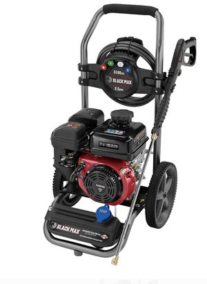 Black Max 3100 PSI Gas Pressure Washer, 212cc OHV Engine for Sale in Las Vegas, NV