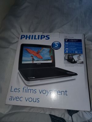 Portable DVD player for car or truck $45 pick up in galt ca for Sale in Lodi, CA