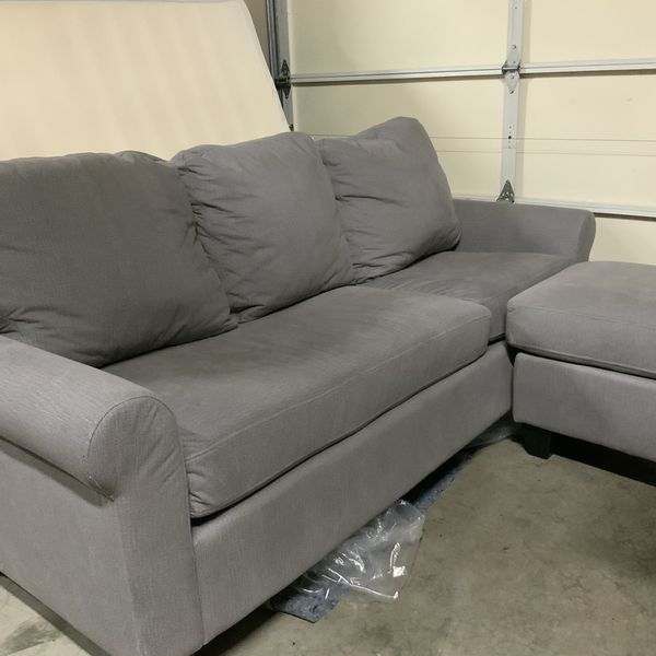 Small Apartment Size Gray Couch