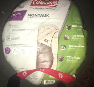 BNWOT Coleman Montauk Sleeping Bag for Sale in Rosedale, MD