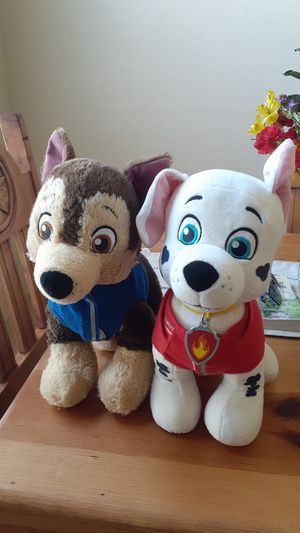 Chase & Marshall stuffed plushies for Sale in Keller, TX