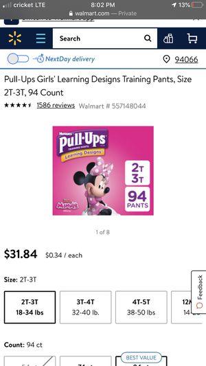 Huggies Pull-ups for Sale in Visalia, CA