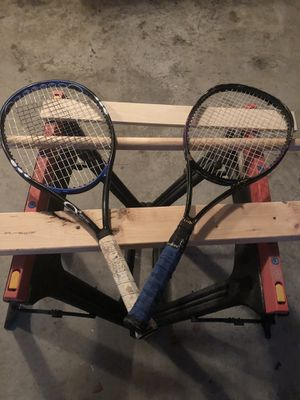 2 Tennis Rackets- Prince and Dunlop Brand for Sale in Raleigh, NC